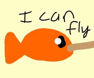 Pinnochio fish