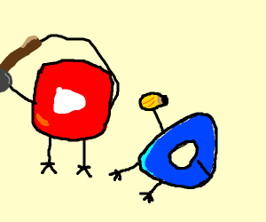 Youtube clobbering Drawception