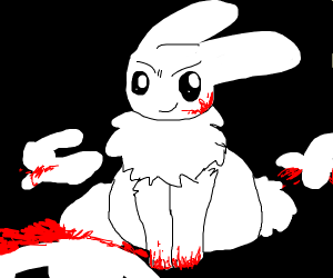 serial killer who is also a bunny