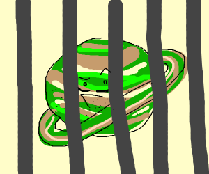 Saturn is in jail