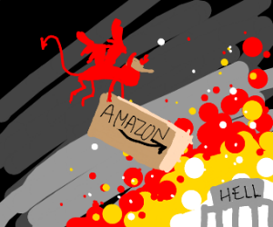 Amazon delivers to the underworld
