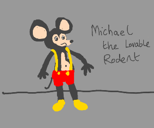 Cut-rate micky mouse
