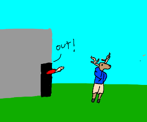 Get out deer boy