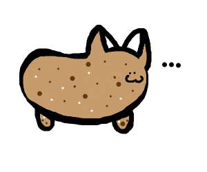 A potato cat