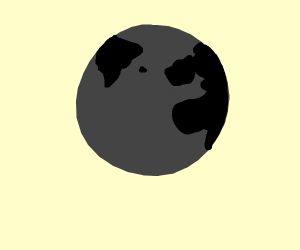 black and gray earth