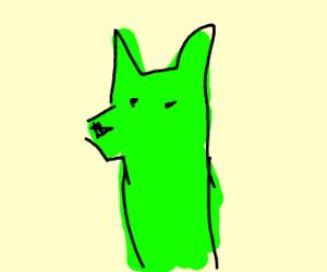 Mark the neon wolf