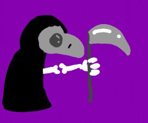 Plague Doctor Grim Reaper mashup