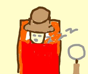 Sleeping detective