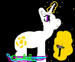 Hairless horse