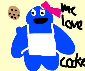 Mrs. Cookie Monster