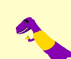 Thanos-aurus rex