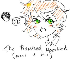 The Promised Neverland - anime (pio)