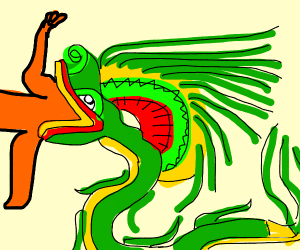 Mythical Mayan Monster