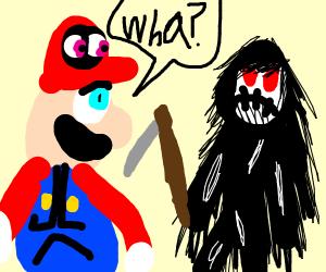 Mario questions death