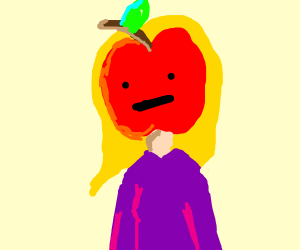 Girl / fruit hybrid. Appletina?