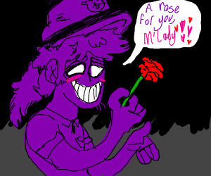 A rose for you, M'lady