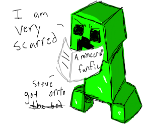 Minecraft creeper fanfic