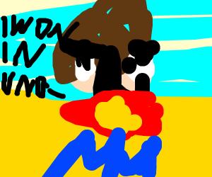 Steven (Steven Universe) wins uno,