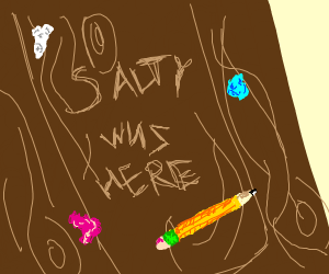 Salty was here