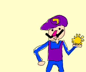 The sun god waluigi