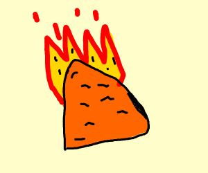 spicy nacho dorito