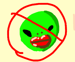 Aliens? No. Aliens with Lipstick? Absolutely!