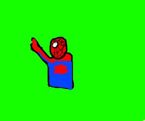 Pointing Spider-Man Meme