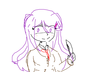 Yuri and her knives