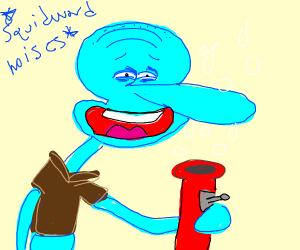 Squidward??