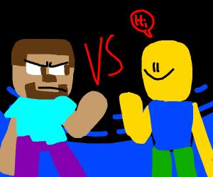 Steve VS Noob