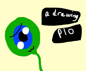 a drawing PIO