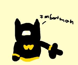Batman pointing at you