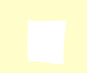 blank white page