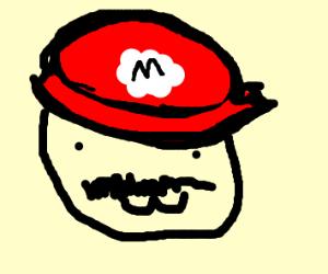 Mario with :3 face