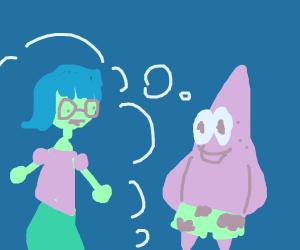 Patrick thinks about Mindy