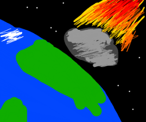 Meteor launches of earth
