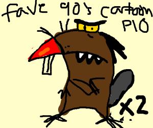 Favourite 90's cartoon (P.I.O)