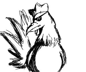 Badass rooster