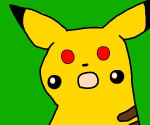 cursed pikachu