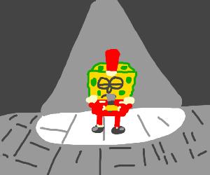 Spongebob singing sweet victory