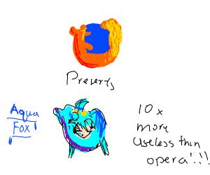 Firefox introduces Aquafox