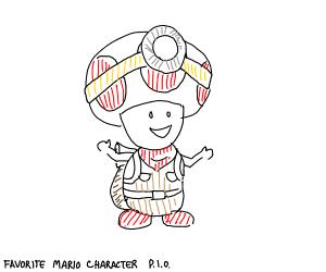 Favourite Mario Character P.I.O.