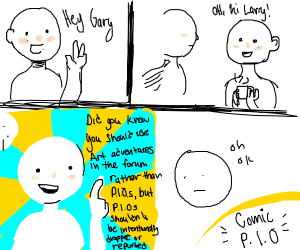 comic P.I.O