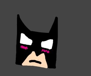 Batman isn't cute