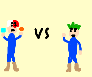 Shoto vs Midoriya