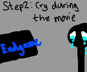 Step 1: Watch Endgame