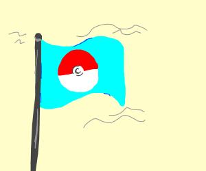 Pokeball flag