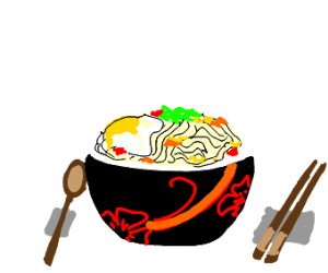 An East Asian Noodle Dish
