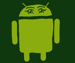 Android alien anime
