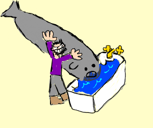 Drowning a whale D: